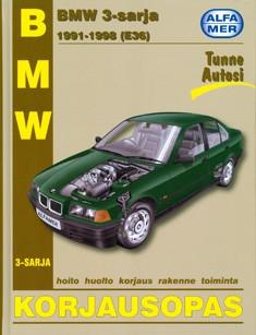 BMW 3-sarja 1991-1998 (E36) : korjausopas, Mark Coombs