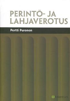 Perintö- ja lahjaverotus, Pertti Puronen