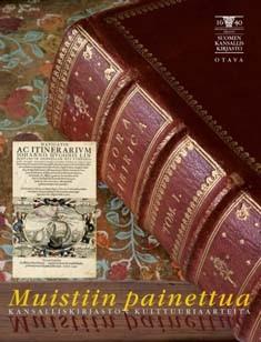 Muistiin painettua : kansalliskirjaston kulttuuriaarteita, Seppo Zetterberg