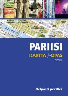 Pariisi : karttaopas, Mélani Le Bris