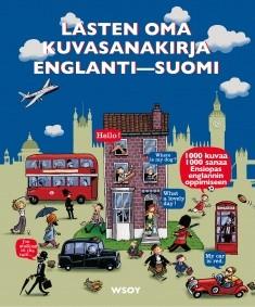 Lasten oma kuvasanakirja englanti-suomi, Paula Karlsson