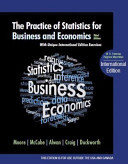 The Practice of Statistics for Business and Economics, David S. Moore