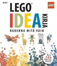 LEGO® ideakirja : rakenna mitä vain, Daniel Lipkowitz