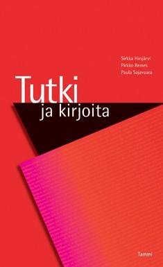 Tutki ja kirjoita, Sirkka Hirsjärvi