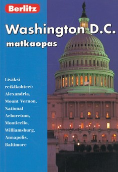 Berlitz matkaopas : Washington D.C, Martin Gostelow