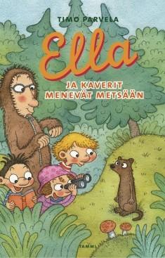 Ella ja kaverit menevät metsään, Timo Parvela