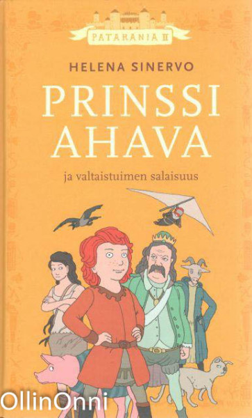 Prinssi Ahava ja valtaistuimen salaisuus, Helena Sinervo