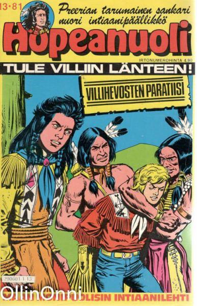 Hopeanuoli 13/81 - Villihevosten paratiisi, Hannele Willberg