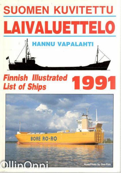 Suomen kuvitettu laivaluettelo 1991, Hannu Vapalahti