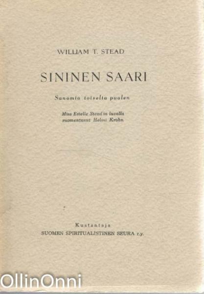 Sininen saari - Sanomia toiselta puolen, William T. Stead