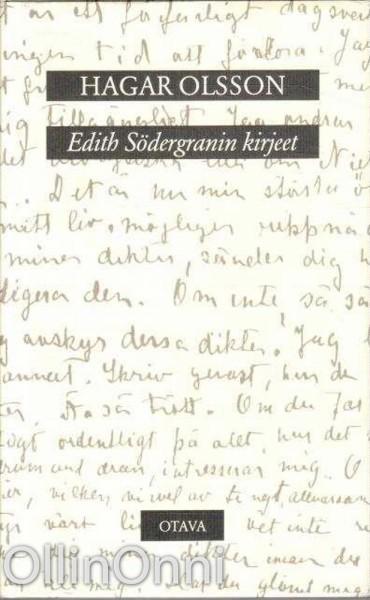 Edith Södergranin kirjeet, Edith Södergran