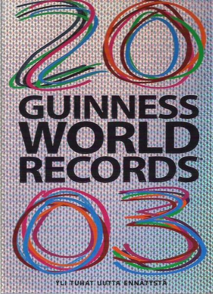 Guinness world records 2004, Claire Folkard