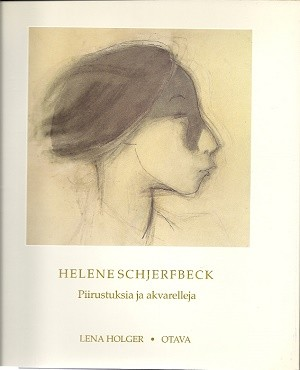 Helene Schjerfbeck : piirustuksia ja akvarelleja, Lena Holger