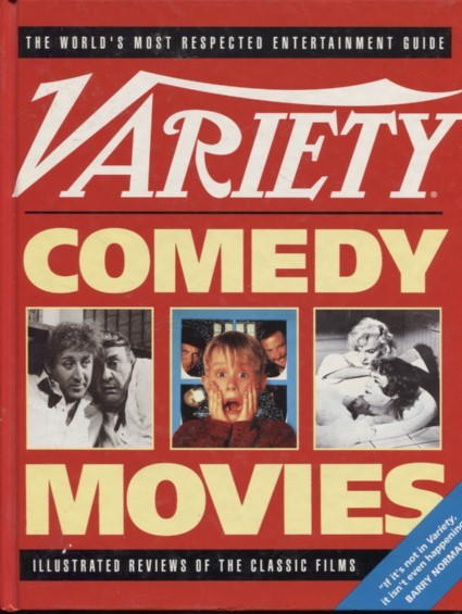 Variety comedy movies : illustrated reviews of the classic films,