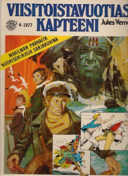 Viisitoistavuotias kapteeni -Maailman parhaita nuorisokirjoja sarjakuvina 4/77 ( suosikit), Jules Verne