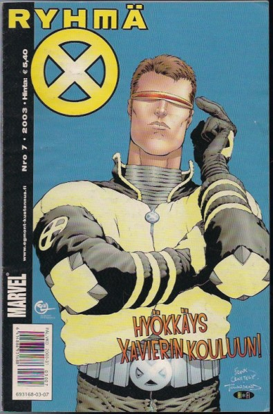X-men 7/2003 - Ryhmä x,