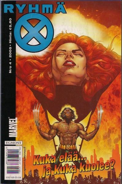 X-men 4/2005 - Ryhmä x,