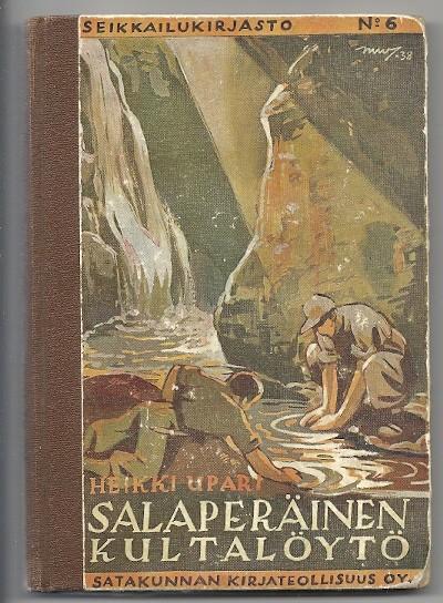 Salaperäinen kultalöytö, Heikki Upari