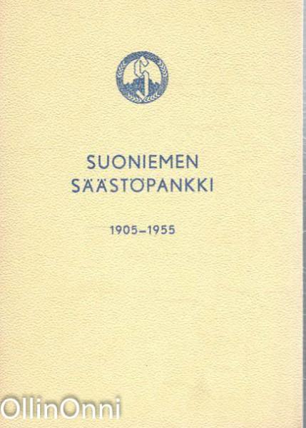 Suoniemen säästöpankki 1905-1955, Ei Tiedossa
