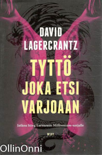 Tyttö joka etsi varjoaan, David Lagercrantz