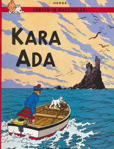 Tenten'in maceralari - Kara Ada, - Hergé