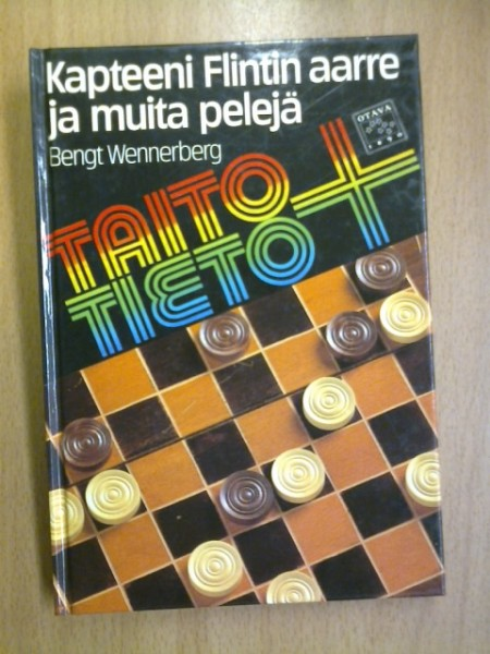 Kapteeni Flintin aarre ja muita pelejä, Bengt Wennerberg