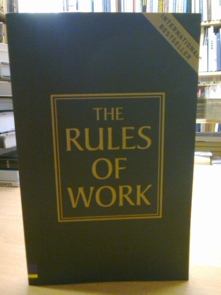 The Rules of Work, Richard Templar