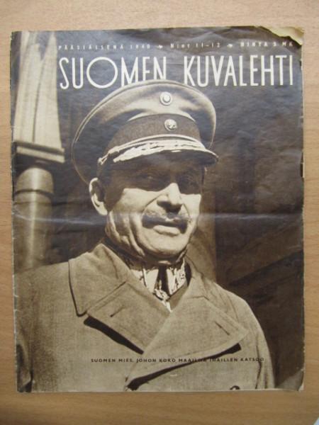 Suomen Kuvalehti 1940 11-12 (kaksoisnumero),