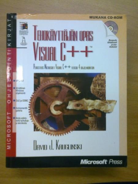 Tehokäyttäjän opas Visual C++, Kruglinsnki David J.