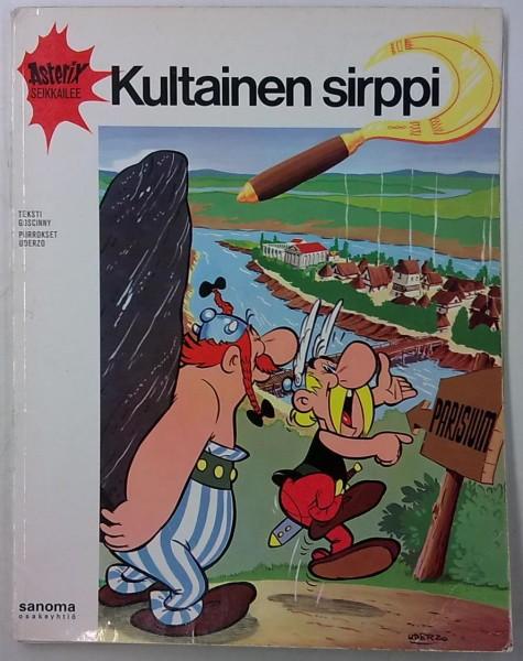 Asterix seikkailee - Kultainen sirppi, Rene Goscinny