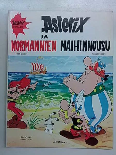 Asterix seikkailee 8 Asterix ja normannien maihinnousu, Rene Goscinny