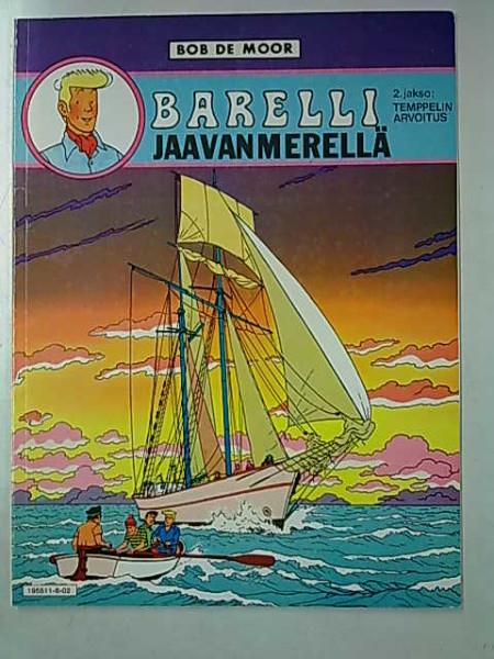 Barelli Jaavanmerellä 2. jakso: Temppelin arvoitus, Bob de Moor