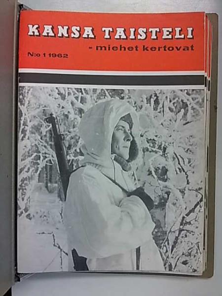 Kansa taisteli 1962 vuosikerta nro 1-12 keräilykansiossa, A. Kurenmaa