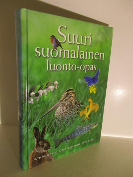 Suuri suomalainen luonto-opas, Antti Halkka
