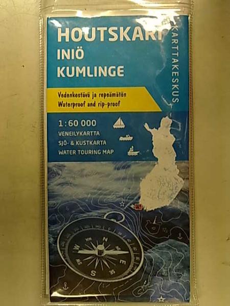 Houtskari Iniö Kumlinge 1:60.000 veneilykartta,