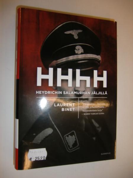 Heydrichin salamurhan jäljillä, Laurent Binet