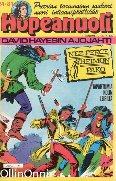 Hopeanuoli 24/81 - David Hayesin ajojahti, Hannele Willberg