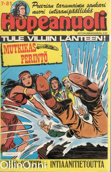 Hopeanuoli 17/81 - Mutkikas perintö, Hannele Willberg