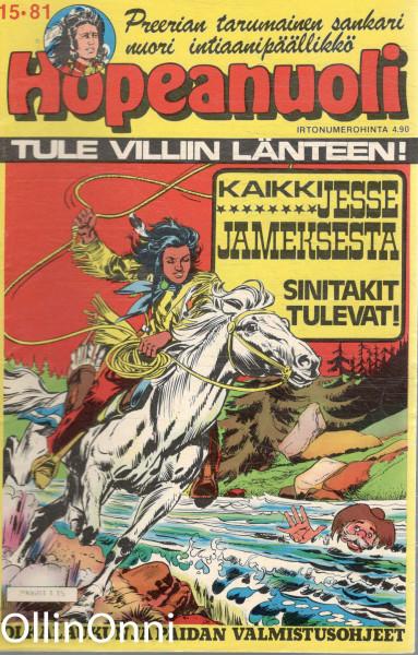 Hopeanuoli 15/81 - Sinitakit tulevat, Hannele Willberg