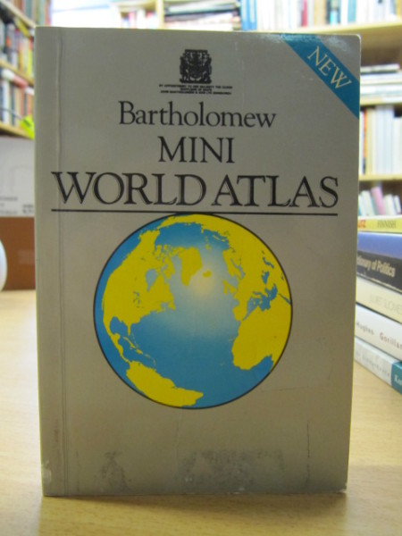 Bartholomew Mini World Atlas,