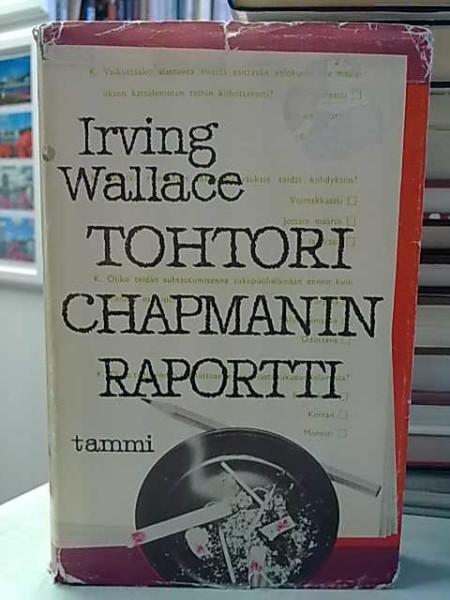 Tohtori Chapmanin raportti, Irving Wallace
