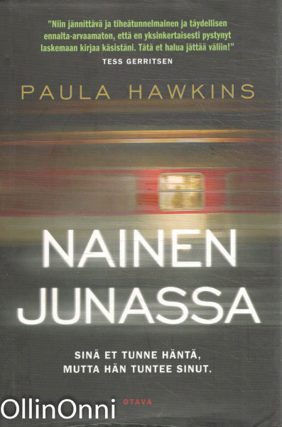 Nainen junassa, Paula Hawkins