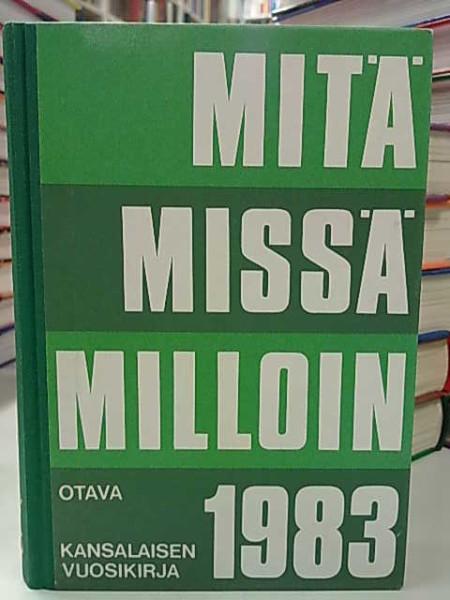 Mitä Missä Milloin 1983 (kangasselkämys),