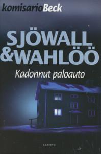 Kadonnut paloauto : romaani rikoksesta, Maj Sjöwall