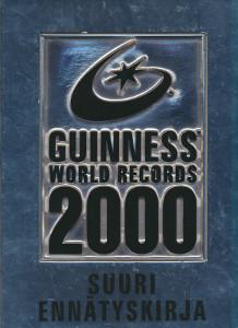 Guinness suuri ennätyskirja 2000 = Guinness world records 2000, Meme Saukko