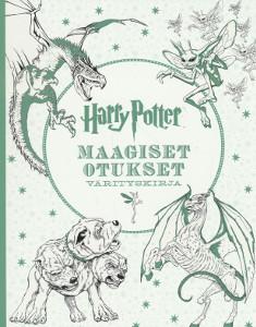 Harry Potter Maagiset otukset Värityskirja,