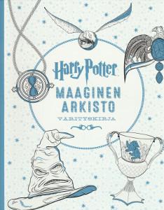 Harry Potter Maaginen arkisto Värityskirja,