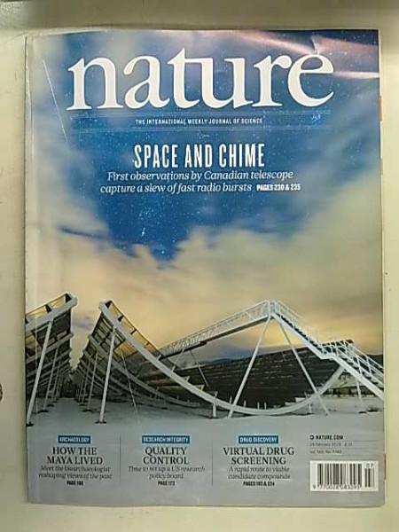 Nature 7743 - 14 Febuary 2019,