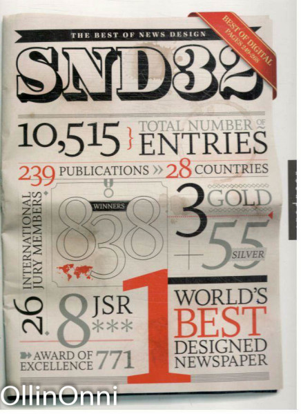 The Best of News Design - Edition SND32, Marshall Matlock