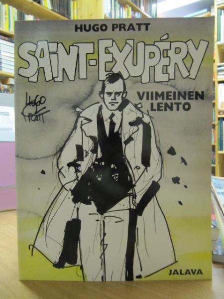 Saint-Exupéry : viimeinen lento, Hugo Pratt